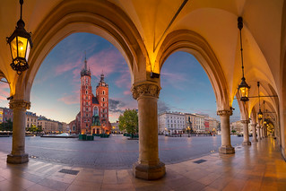 Krakow Sunrise.