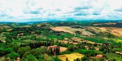 Toskaans Land /Tuscan Country (jo.misere) Tags: toskana italie landschap landscape montepulciano bomen trees groen green ngc