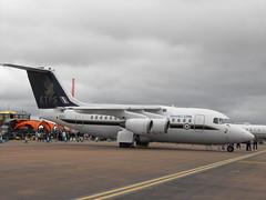 Avro 146 RJ70 - QQ 102 @ RIAT - July 2017 (Andy Reeve-Smith) Tags: empiretestpilotsschool etps bae baesystems avro 146 qinetiq qq102 raf fairford rae farnborough boscombedown royalinternationalairtattoo 2017 riat2017 gloucestershire gloucs