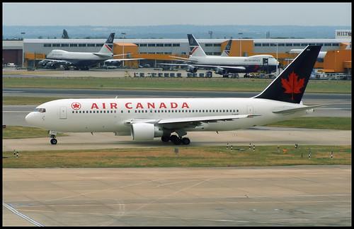 C-GAVF - London Heathrow (LHR) 07.07.1995