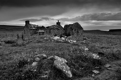 Forgotten (images@twiston) Tags: forgotten abandoned ruin derelict farm building farmhouse yesnaby sandwick atlantic ocean mainland orkney scotland island sky dark brooding moody cloud clouds landscape field imagestwiston farnorth mainlandorkney highlands islands summer day schottland caledonia ecosse escoia alba scottishhighlands highlandsandislands croft mono blackandwhite noirblanc monochrome northernisles bw