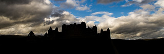 Ruthven Barracks Silhouette