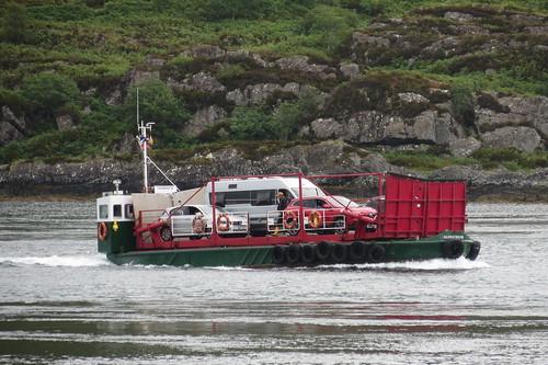 Kylerhea Turntable Ferry