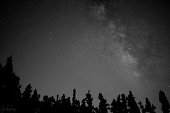 Milky Way (gjaviergutierrezb) Tags: milky way sky stars blackandwhite blackwhite blancoynegro astronomy