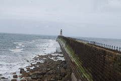 Tynemouth North Pier (Halliwell_Michael ## Thanks you for your visits #) Tags: northumberland nikond40x 2017 thegeorgechollerford tynemouth northsea pier lighthouse perspective sea water seaside seascape lanscapes