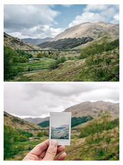 Harry Potter bridge (c.r.photoholic) Tags: scottland scotland forth william harry potter harrypotter bridge polaroid