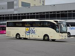 Alfa BU13ZTO Derby (Guy Arab UF) Tags: alfa tours 70 bu13zto mercedes benz tourismo coach derby bus station buses