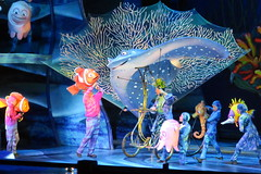Disney World: Animal Kingdom - Finding Nemo - The Musical (wallyg) Tags: amusementpark animalkingdom baylake dinolandusa disneyworld findingnemo findingnemothemusical florida musical orangecounty orlando theaterinthewild themepark waltdisneyworldresort nemo marlin ray