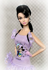 Poppy Parker in Disney Fashion (daniela.markovna) Tags: poppy parker barbie disney