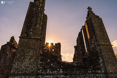 Llanthony Priory (technodean2000) Tags: llanthony priory mid wales uk nikon d610 lightroom clone architecture outdoor building ruins arch viaduct ancient sun flare light
