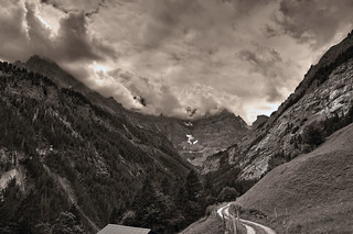 Welcome to Sefinental , (Gimmelwald, Murren , Canton of Bern , Switzerland ), No. 599.