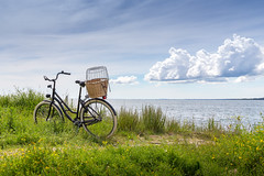 Holiday...... (J. Pelz) Tags: oceanview gotland bicycle vacation landscape holiday nature gotlandslän sweden se