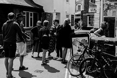 Back streets of a busy Padstow (Geordie_Snapper) Tags: canon5d3 canon70200mmf4islusm canon2470mm cornwall june padstow summer