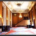 Hilton Hotel Chicago [Stevens Hotel] ~ Chicago IL ~ Normandie Lounge  ~  Historic Hotel  ~ Vintage Photo thumbnail