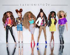Revival (fashionisto2k) Tags: barbie dolls teresa drew christie raquelle nikki skipper fashion kanekalon f2k
