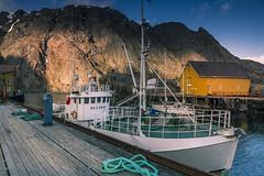 Nusfjord (Sizun Eye (OFF for a while)) Tags: nusfjord unesco harbour boat fishingboat lofoten norway sizuneye tamron2470mmf28 nikond750