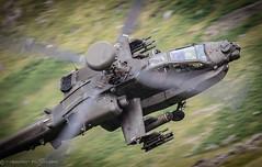"""GUNSHIP"" (tommerchant1) Tags: 662squadron armyaircorps army aircorps apache gunship helicopter snowdonia cadairidris cadair machloop lfa7 lowlevel aviation military militaryaircraft wattisham aac"