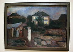 The Storm, by Edvard Munch (JB by the Sea) Tags: sanfrancisco california july2017 urban financialdistrict sanfranciscomuseumofmodernart sfmoma painting edvardmunch expressionist expressionism