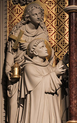 St Mary Magdalene with St Dominic (Lawrence OP) Tags: dominic magdalene saints marymagdalene stdominics london rosaryshrine altar