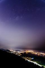 Região oceânica e a Via Láctea (mcvmjr1971) Tags: 2017 brazil d7000 nikon niterói baiadeguanabara cidadedoriodejaneiro cidademaravilhosa litoral maravilhoso mmoraes parquedacidade pordosol riodejaneiro sea seaside sunset