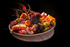 Fruity (Stefan Schafer) Tags: celebration events food summer backyard fruit platter sun healthy cheese light party