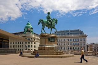 Vienna / Franz Joseph I / Albertina museum