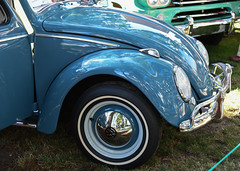 1962 VW Beetle (faasdant) Tags: 45th annual forest grove concours delegance 2017 pacific university campus classic car automobile show exhibition 1962 vw volkswagen beetle blue