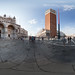360 panorama at Piazza San Marco, Venezia, Italia