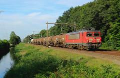 DB Cargo 1615 @ Herfte (Sicco Dierdorp) Tags: db dbc cargo serie1600 onnen kijfhoek zwolle herfte meppel keteltrein ketelwagen afvoertrein