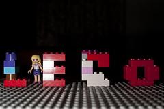 Lego (Ghazghul) Tags: lego stephanie brick stud mindoll minifig nikon d300s nikkor sb800 20mmf28d
