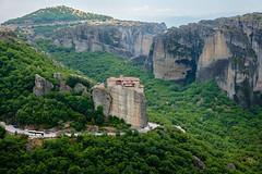 Roussanou Convent (Rodney Topor) Tags: greece meteora roussanou monastery convent landscape fujifilmx100s