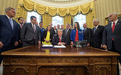President Trump signs NASA Transition Authorization Act of 2017