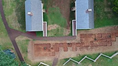 DJI_0024 (Montpelier Archaeology) Tags: indianadrone archaeology aerial fencelin fenceline southyard