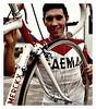 1969 Eddy Merckx and his Faema bike (Sallanches 1964) Tags: eddymerckx faema 1969 eddymerckxbike roadcycling tourdefrance
