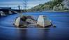 Slowly In The Water (zilverbat.) Tags: canada longexposurewater longexposure waterfront bild lebyday lee world wallpaper zilverbat canon nd110 quebec outdoor nature