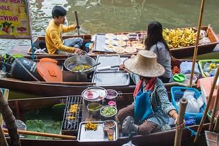 marche fottant damnoen saduak - thailande 13