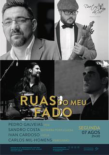 CONCERTO IN FADO - Duetos da Sé - Alfama Lisboa - SEGUNDA-FEIRA 7 AGOSTO 2017 - 21h30 - RUAS DO MEU FADO - Pedro Galveias