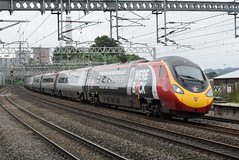 VT 390040 @ Rugeley Trent Valley (ianjpoole) Tags: virgin trains class 390 pendolino 390040 radio star working 1h09 london euston manchester piccadilly