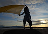 Indian Designs.. (Imagine8 Photography) Tags: scotland ayrshire northayrshire imagine8photography indian indianclothing floaty beautiful isleofarran sunset silhouette shore beach sea fun lady scarf billowing