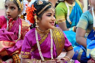Kuchipudi Guinness Dance -Hyderabad 2014 (7)