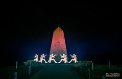 Stormtroopers at Portland Bill (ellyrussellphotography) Tags: weymouth portlandbill pixelstick paintingwithlight nightphotography lightpainting colour brightcolours nightshoot stars lighthouseatportlandbill lighthouse