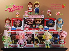 Strawberry Shortcake and Friends (thedollydreamer) Tags: strawberryshortcake dolls vintage pop funko blueberrymuffin orangeblossom limechiffon raspberrytart lemonmeringue huckleberrypie retro classiccollection thedollydreamer bridgetdellaero