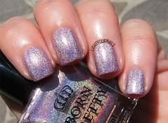 Bornpretty holo polish H004 Magnificent Time (Simona - www.lightyournails.com) Tags: bornprettystore bps holographic pink esmalte smalto vernis manicure unghie nails nailpolish nagellack naillacquer nailswatch