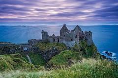 Dunluce at Dusk (Stoates-Findhorn) Tags: 2017 antrim atlantic castle coast dunluce dusk northernireland ocean portrush ruin sea sunset twilight unitedkingdom olympsflickraward