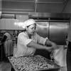 #tlrtuesday no.33 - woman making pasta (nickdemarco) Tags: rollei rolleiflex rollei35f planar italy atina kodaktrix400 blackandwhite rangefinderchronicles twinlensreflex