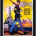 'U.S. Marines' -- Recruiting Poster U.S. Navy Memorial Washington (DC) 2017