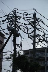 yokkaichi5219 (tanayan) Tags: mie japan yokkaichi nikon j1 三重 四日市 日本 urban town spiked poles