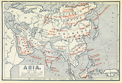 Asian Products (sjrankin) Tags: illustration map historic 20july2017 edited library britishlibrary commerce products minerals mining economy