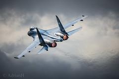 Sukhoi SU27 (AdrianH Photography) Tags: nikon nikon300mmf4pfvr aviation aeroplanes airshows aircraft airtattoo jets fairford glostershire