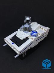 StarSpeeder 3000 MicroFighter (graznador) Tags: lego starwars legostarwars moc graznador toy fbtb fbtbcontest captainrex startours disneyland disneylego starspeeder